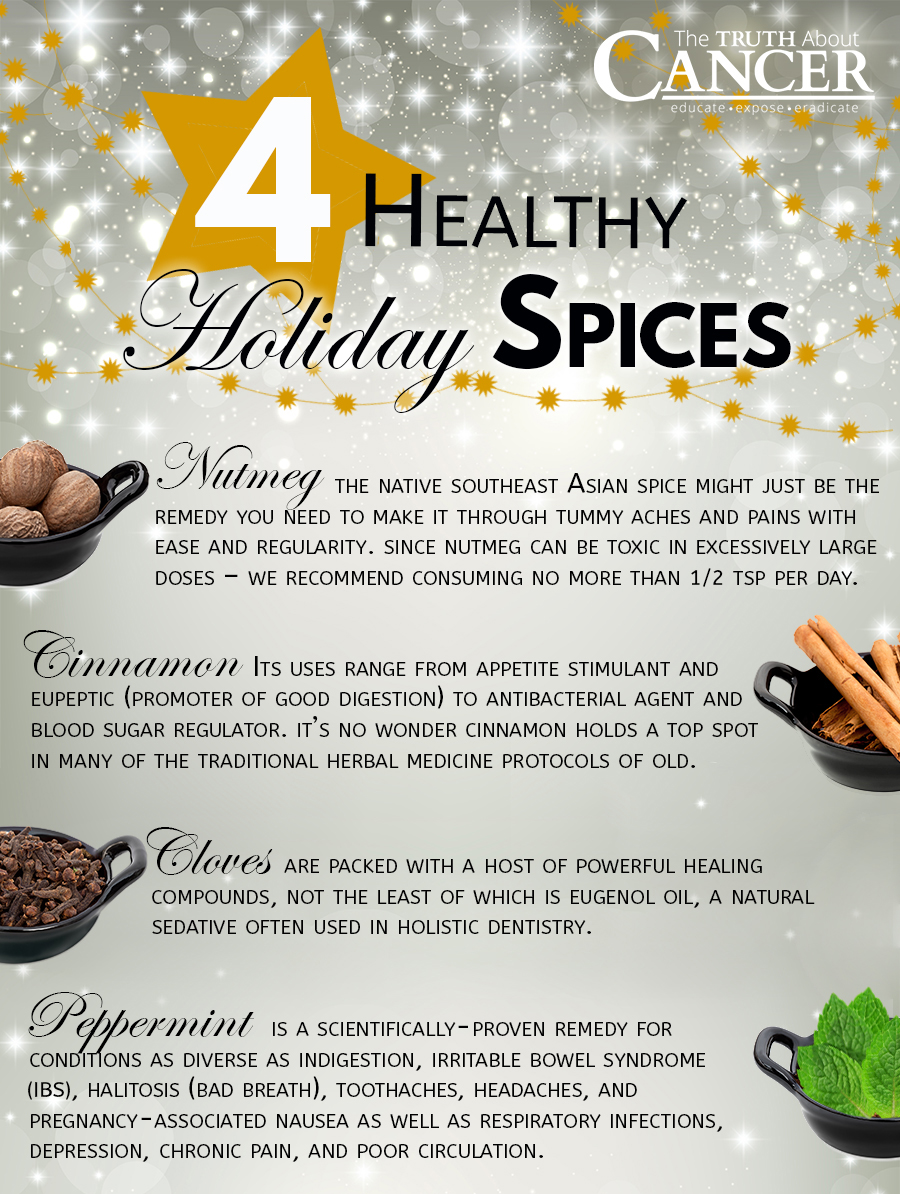 healthy holiday spices