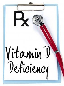 vitamin d deficiency text write on prescription