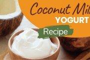 coconut yogurt recipe featured image