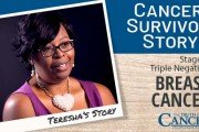 teresha cancer survivor story