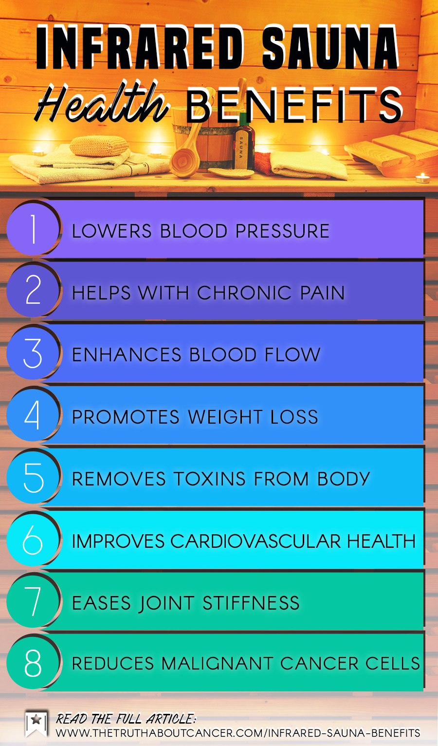 Infrared Sauna Benefits for Cancer & Other Healing