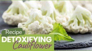 Detoxifying Cauliflower, Kale, and Pine Nut Confetti Recipe