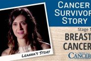 Leanna cancer survivor story