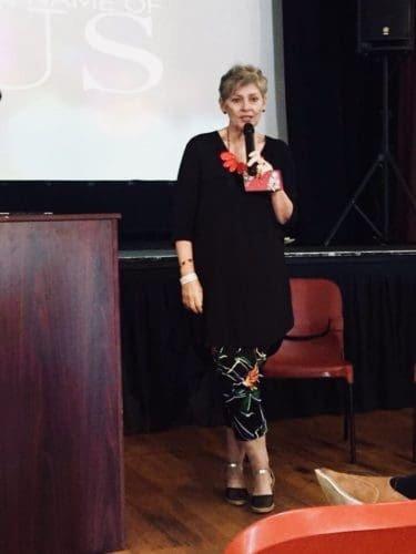 Barbara Gannon speaking