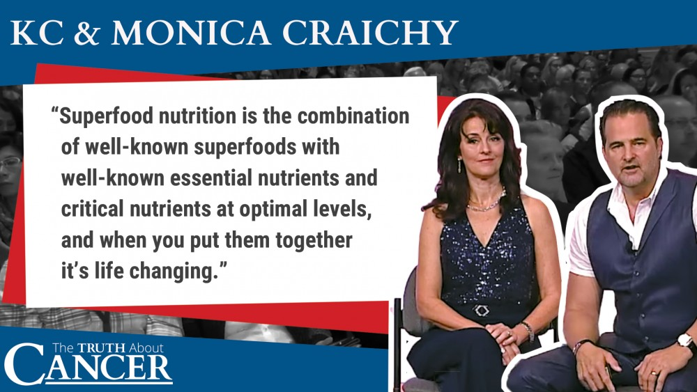 superfood nutrition quote by kc Craichy