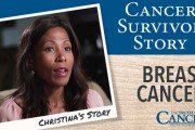 cancer survivor - christina