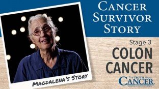 Cancer Survivor Story: Magdalena Margner (Colon Cancer)