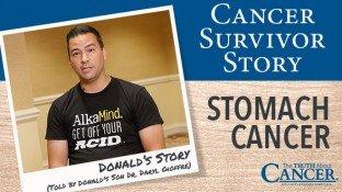 Cancer Survivor Story: Donald Gioffre (Stomach Cancer)