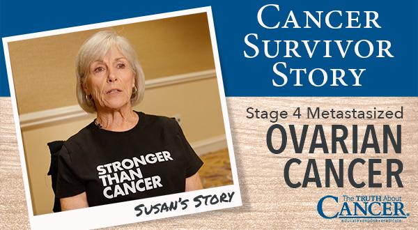 Cancer Survivor Story Susan Ellington Ovarian Cancer