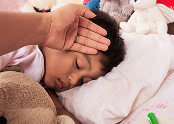 A fever is not necessarily harmful. It is the body's way of killing off viruses and bacteria