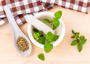 Oregano is used abundantly in Italian dishes such as pizza and tomato sauces