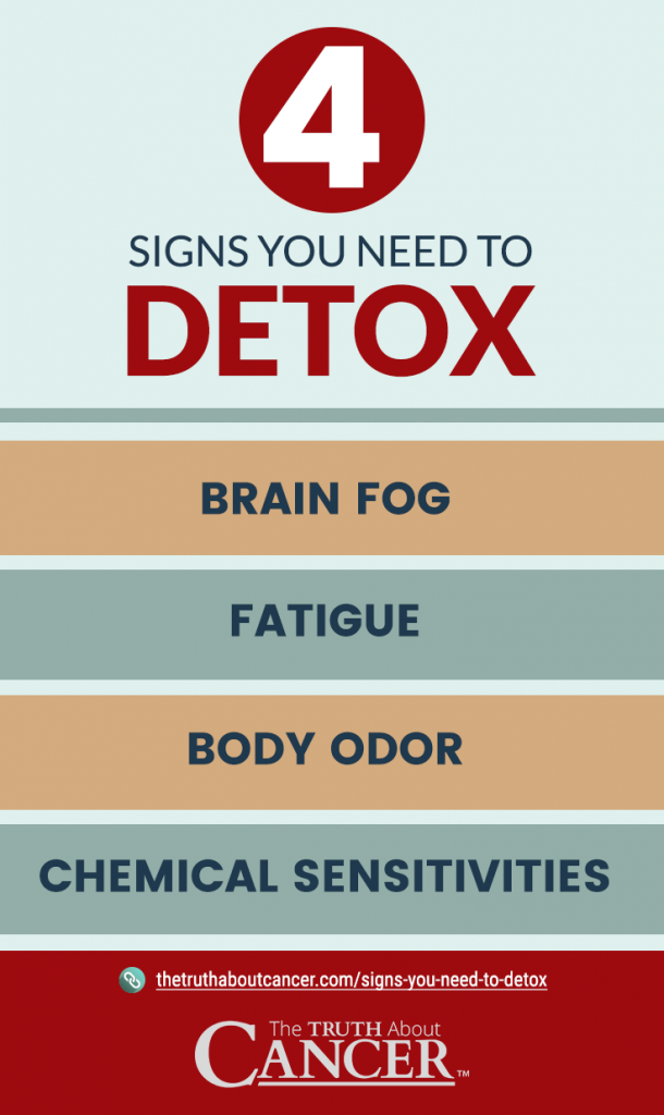4 Signs You Need to Detox