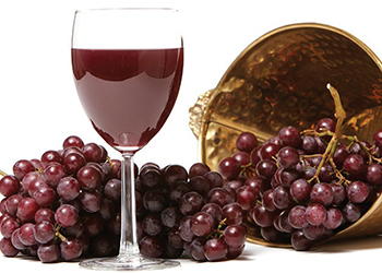 grape skins are a high source of resveratrol