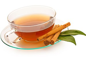 Make a warming cinnamon tea by placing a few cinnamon sticks in boiling water