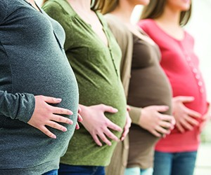Fasting is not recommended for women in their 2nd and 3rd trimester of pregnancy