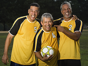 An active, healthy lifestyle and proper nutrition are key contributors to a decreased risk of prostate cancer