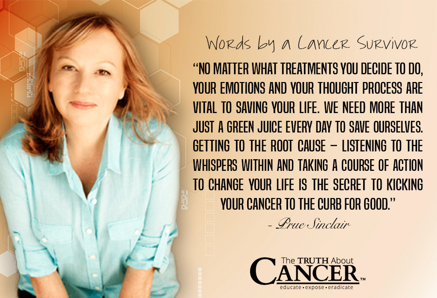 Quote by Stage 4 malignant melanoma Cancer Survivor Prue Sinclair
