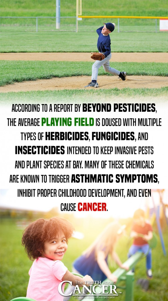The Surprising Connection Between Cancer and Sports - Why That Perfect-Looking Grass is Not-So-Perfect for Your Health