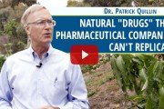 "Dr. Patrick Quillin shares natural ""drugs"" that pharmaceutical companies can't replicate.."