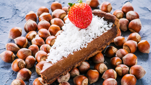 "Healthy Chocolate Pie Recipe: ""Mouth Watering"" Maca Cacao Pie"