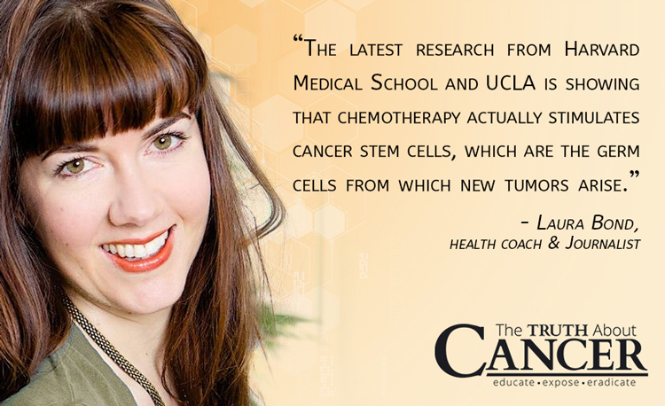 Quote by Laura Bond about a Chemotherapy study