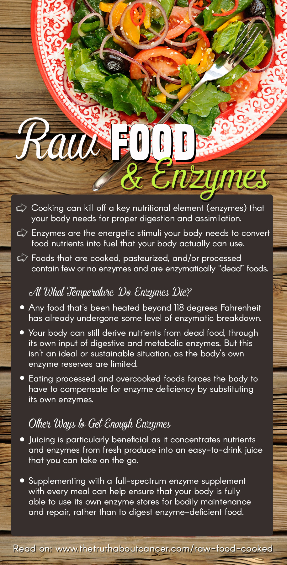 """Raw Food vs Cooked: Is What's on That Plate """"Dead"""" or """"Alive""""?"""