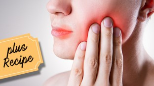 Sore Mouth Relief After Cancer Therapy: 7 Foods That Help (+ Recipe)