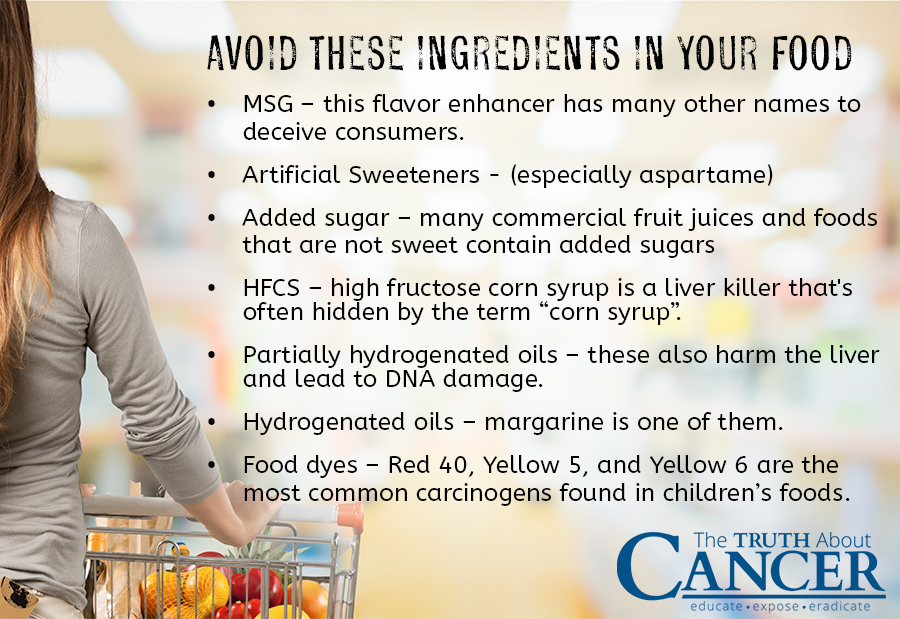 sarcoma-food-ingredient-to-avoid