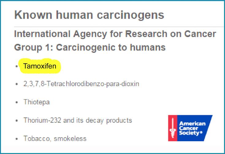 carcinogens-to-human-tamoxifen