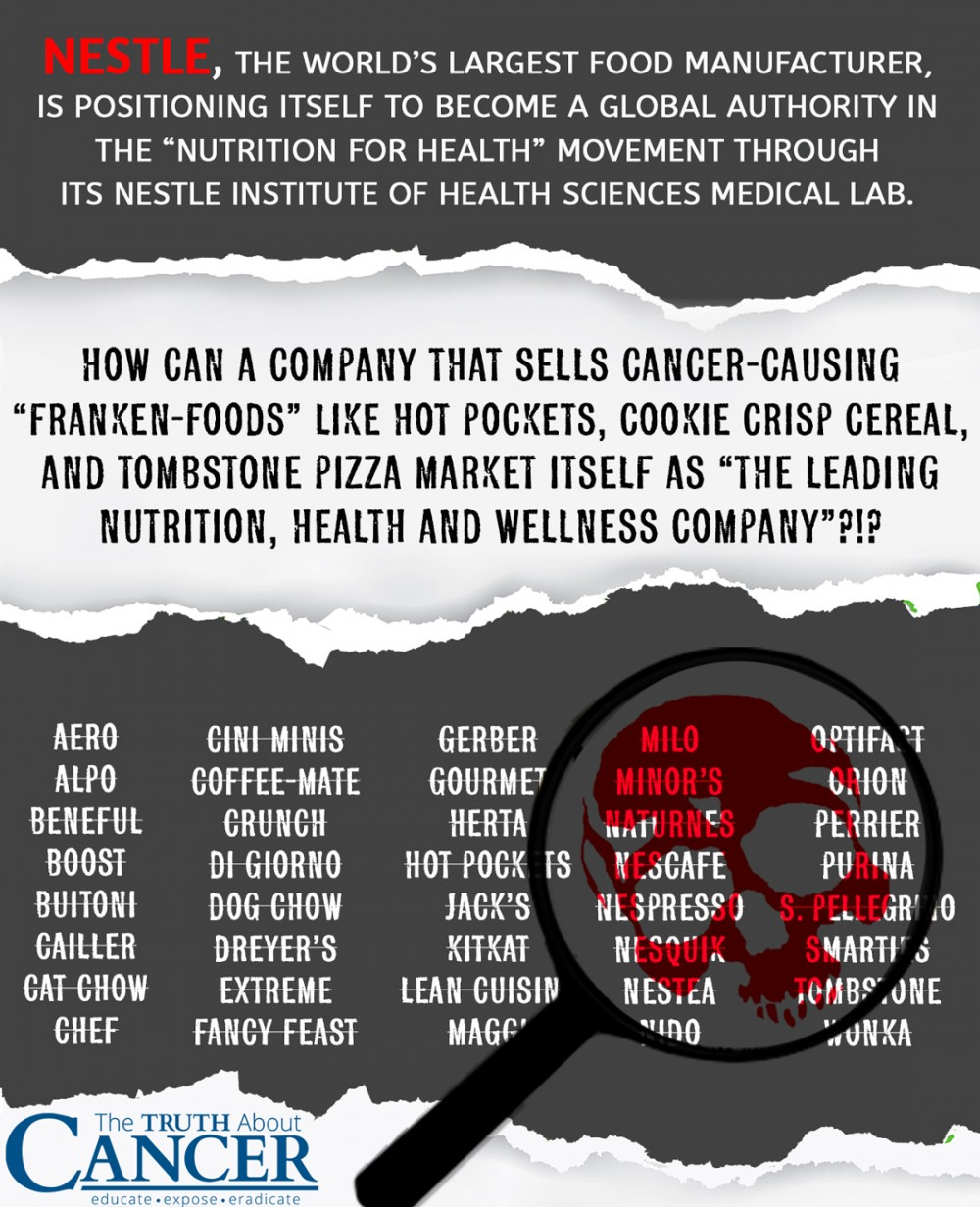 Nestlé Foods and the Numerous Ways They Contribute to Cancer