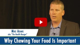 Why Chewing Food is Important for Good Digestion (video)