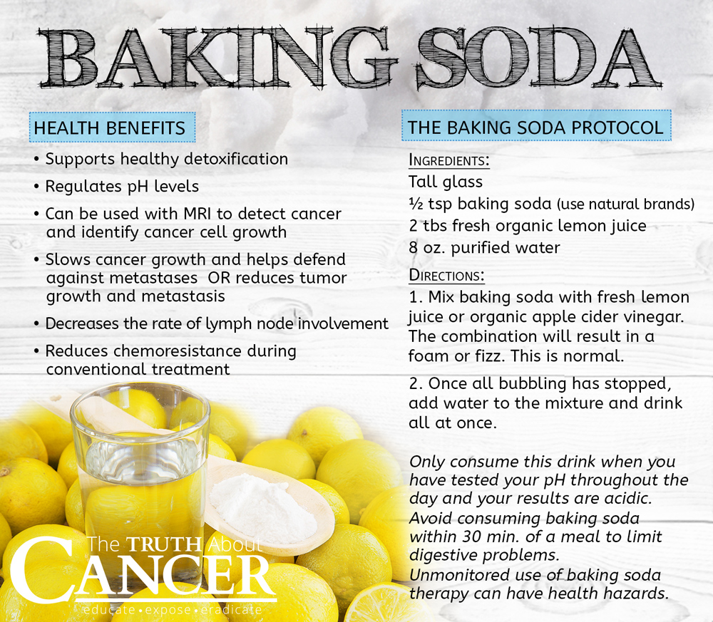 baking soda uses for helping to prevent and heal cancer. Black Bedroom Furniture Sets. Home Design Ideas