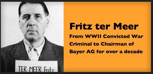 Fritz ter Meer Bayer Chairman