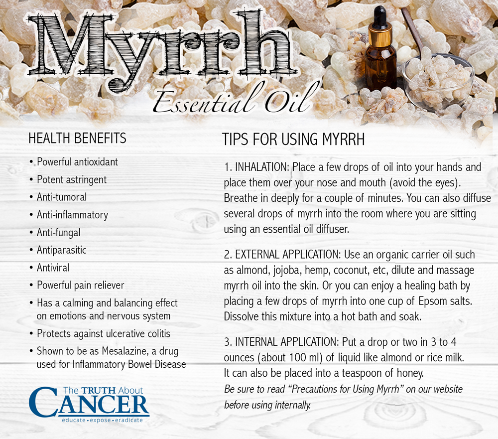 The Healing Gifts of Myrrh Essential Oil