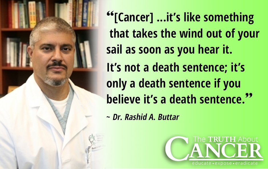 Dr-Buttar-cancer-is-not-a-death-sentence-quote