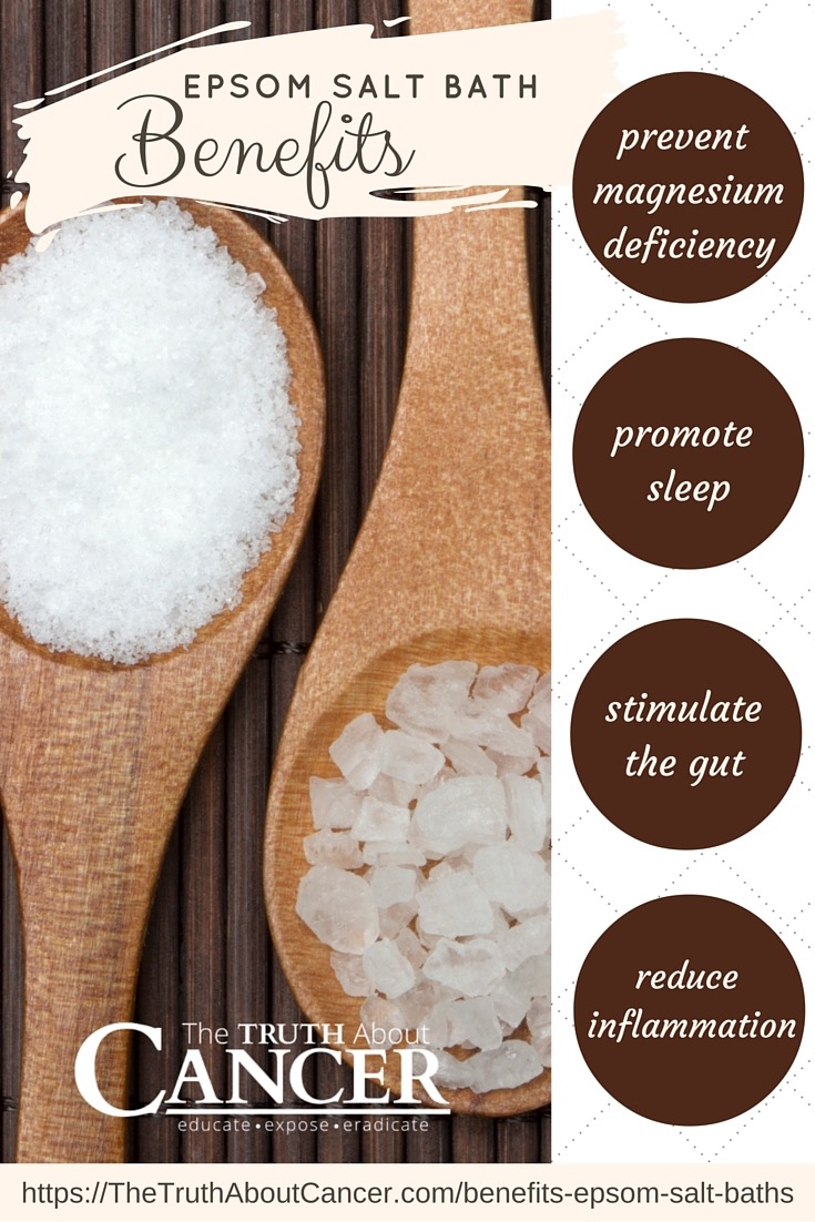 4 benefits of epsom salt baths