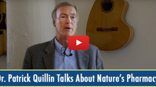 Best Selling Author Patrick Quillin Talks About Nature's Pharmacy (video)