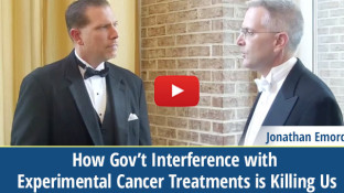 Gov't Interference with Experimental Cancer Treatments (video)