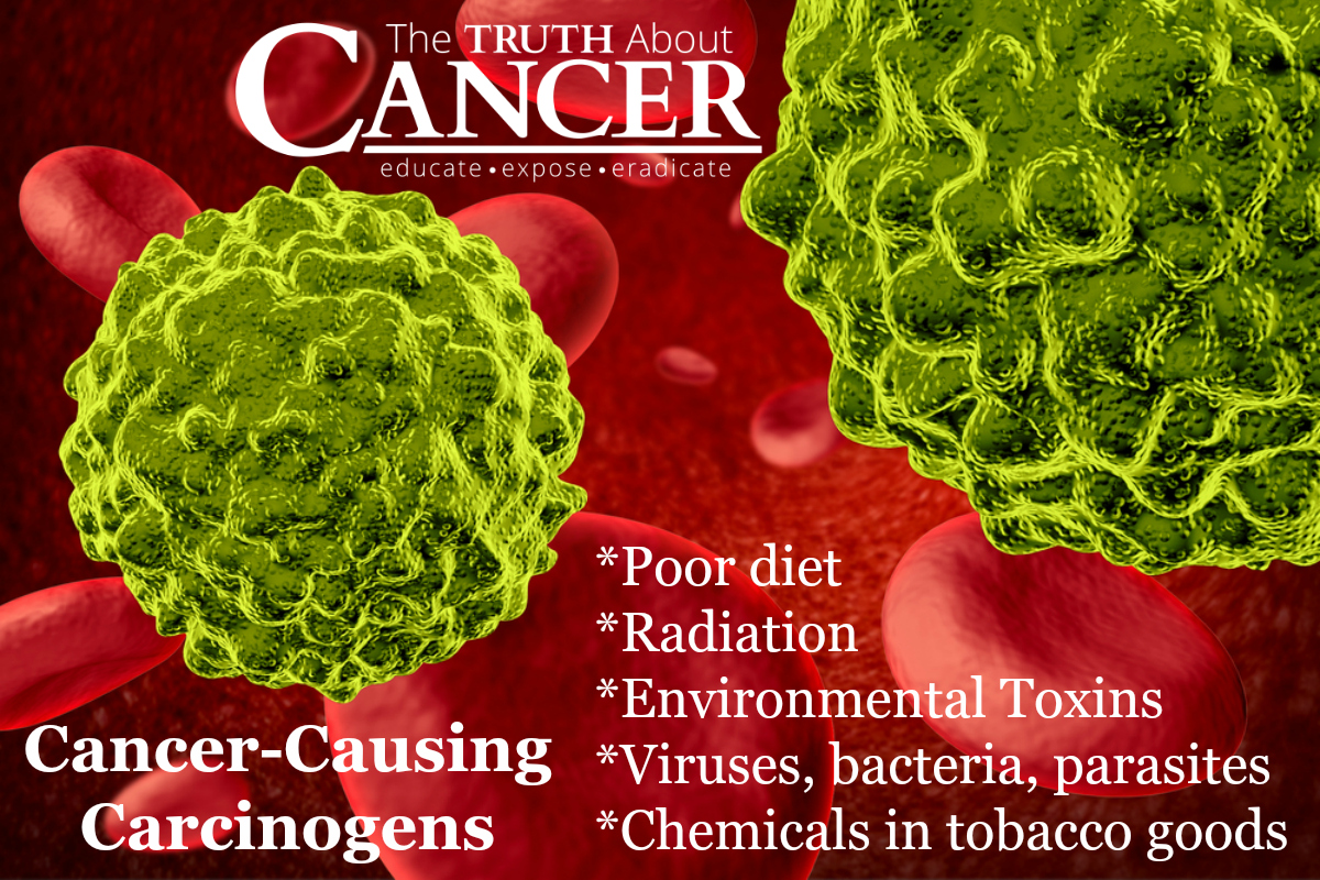 Five Cancer Causing Carcinogens.
