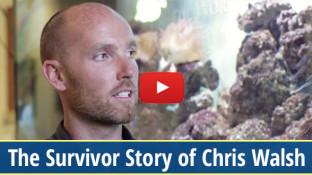 Melanoma Survivor Story of Chris Walsh (video)