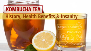 Kombucha Tea - History, Health Benefits & Insanity