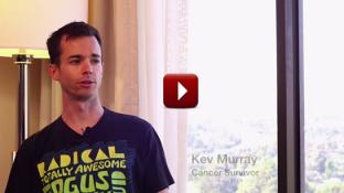 Testicular Cancer Survivor Story of Kev Murray (video)