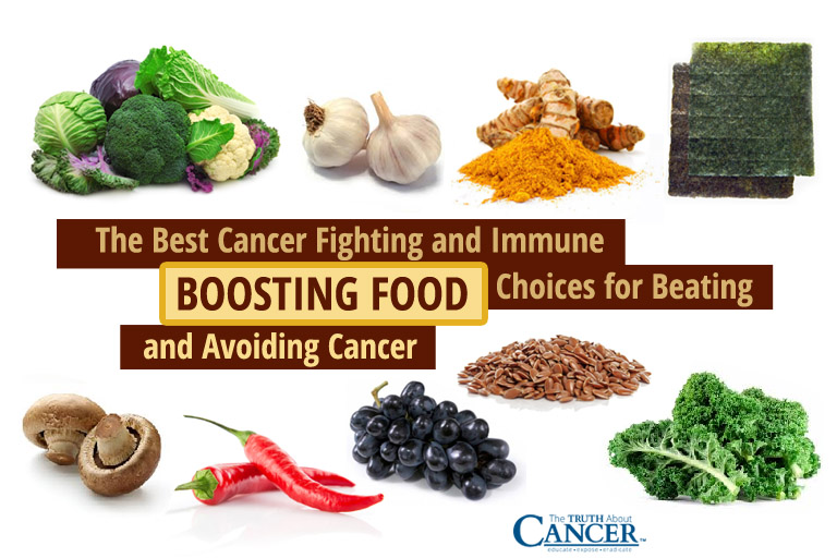 The Best Cancer Fighting And Immune Boosting Food Choices