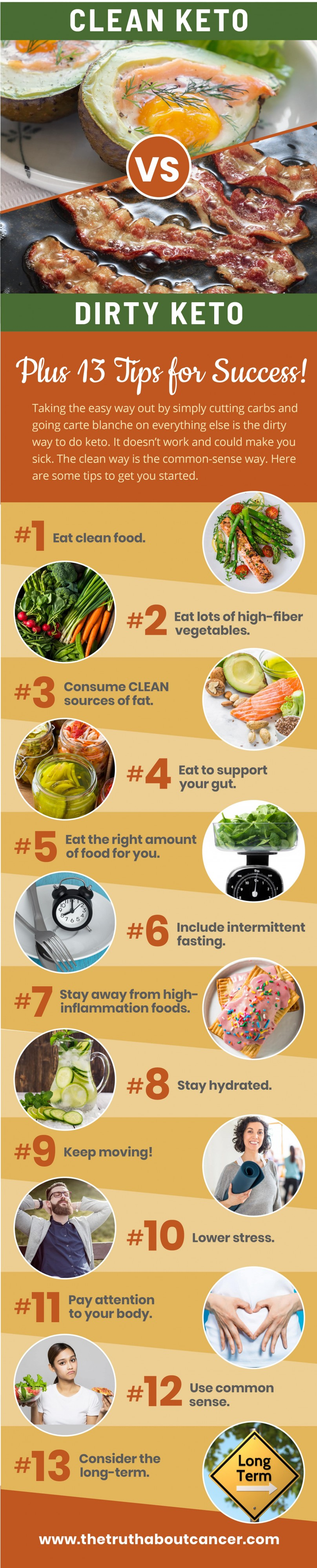 13 tips for clean keto diet