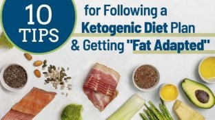"10 Tips for Following a Ketogenic Diet Plan & Getting ""Fat Adapted"""