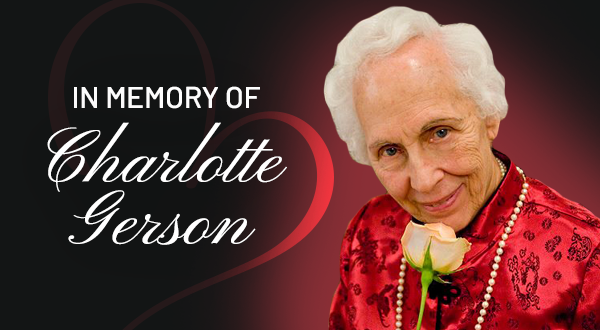 in memory of charlotte gerson