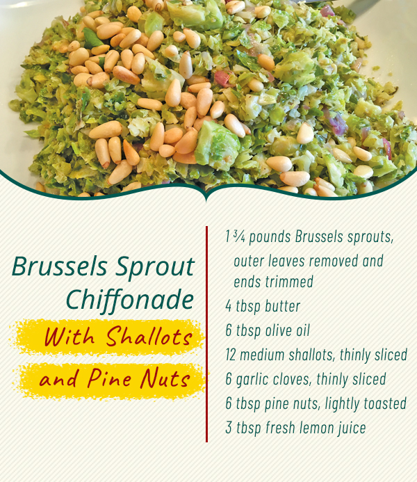 brussels sprouts collagen recipe