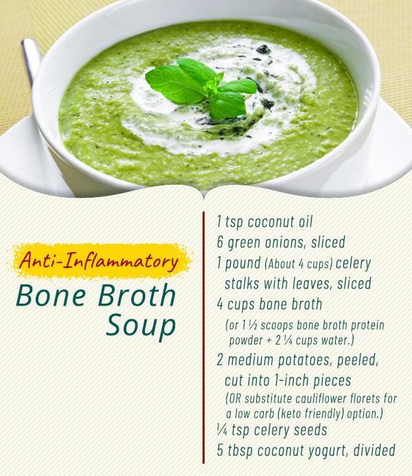 bone broth collagen soup