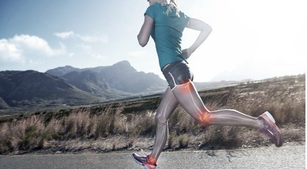 woman running with healthy joints