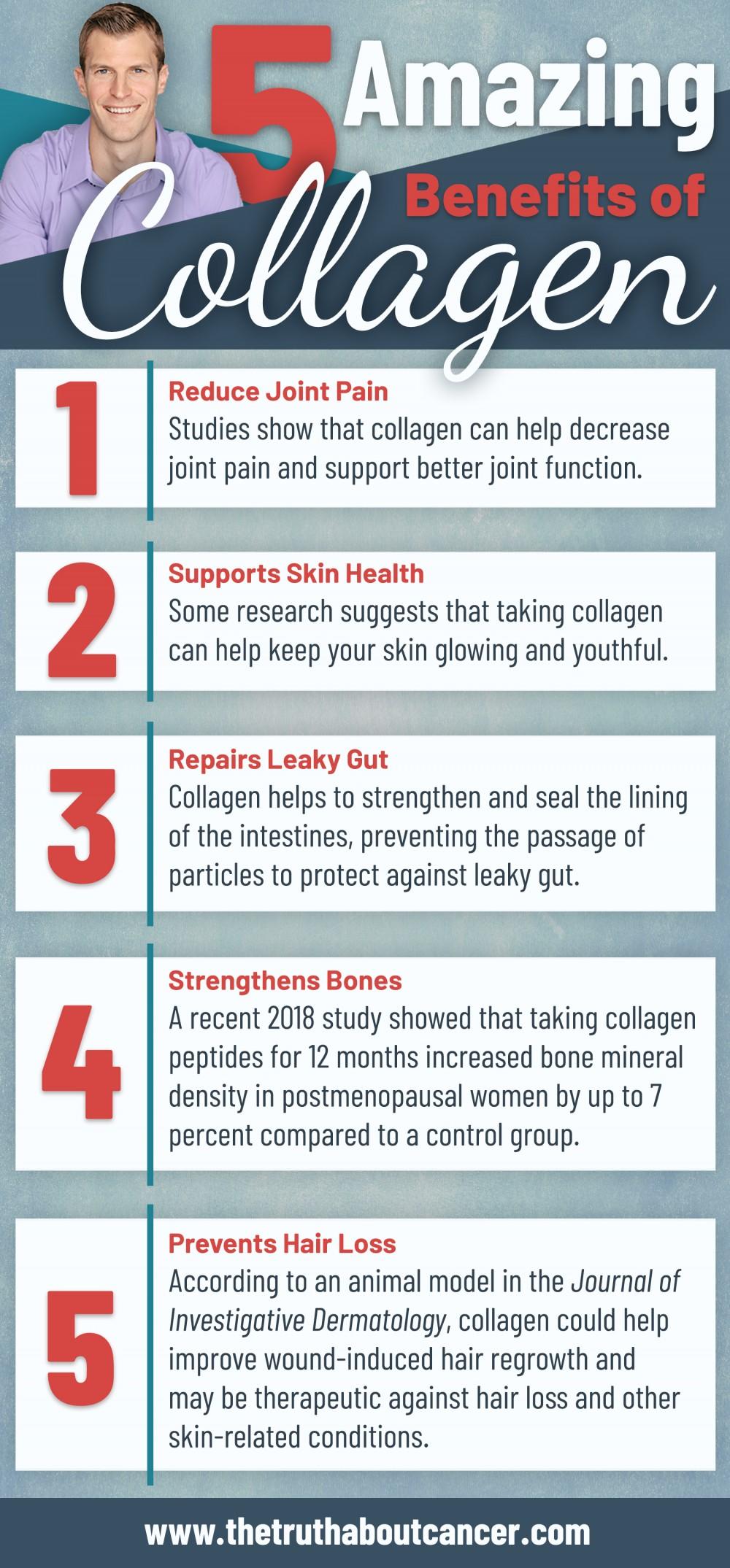 5 benefits of collagen